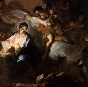 Antonio Balestra - The Adoration of the Shep..
