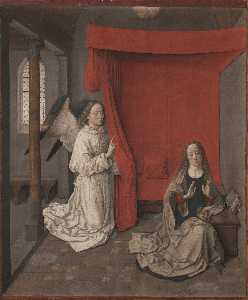 Dieric The Younger Bouts - Annunciation