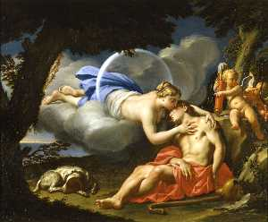 Francesco Trevisani - Diana and Endymion
