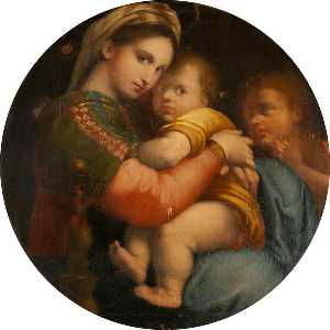 Gaetano Chierici - The Madonna of the chair