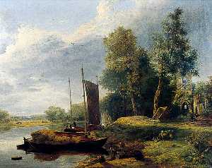George Vincent - On the River Yare, Norfolk
