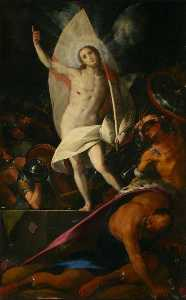 Giovanni Battista Crespi - Resurrection of Christ