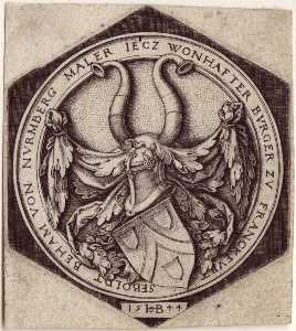 Hans Sebald Beham - Coat of Arms