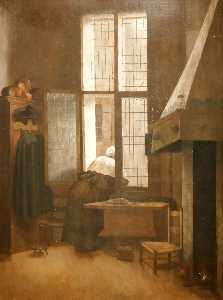 Jacobus Vrel - Women at the window