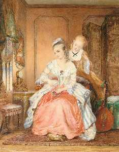 Jean Carolus - A lady and her maid