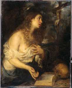 Mateo The Younger Cerezo - Penitent magdalen