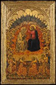 Niccolò Di Buonaccorso - Coronation of the Virgin