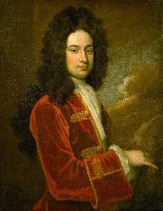 Godfrey Kneller - Portrait of James Stanhop..