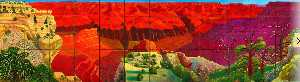 David Hockney - A bigger grand canyon