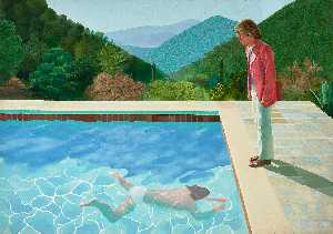 David Hockney - Portrait of an artist poo..