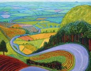 David Hockney - Garrowby hill