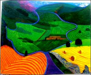 David Hockney - North yorkshire