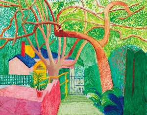 David Hockney - The gate