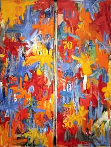 Jasper Johns - False start