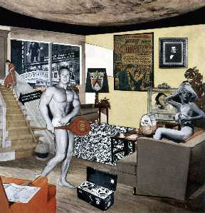 Richard Hamilton - Just what is it that makes today's homes so different, so appealing.