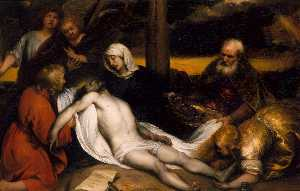 Jan Andrea Lievens - The Lamentation of Christ