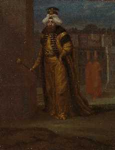Jean Baptiste Vanmour - English 24th Sultan and 1..