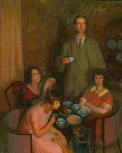 Henry Lamb - Darsie Japp and Family