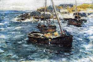 William Mctaggart - A Ground Swell, Carradale..