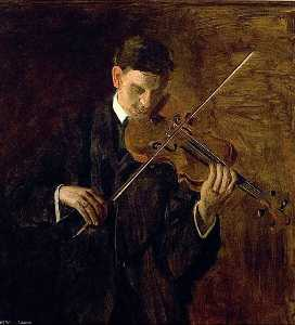 Thomas Eakins - The Violinist