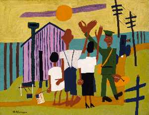 William Henry Johnson - Off to War