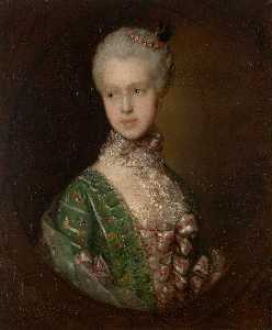 Thomas Gainsborough - Elizabeth Wrottesly