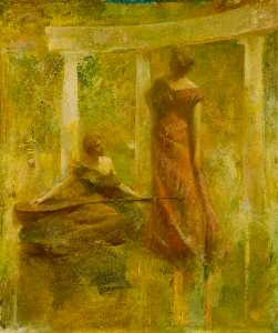 Thomas Wilmer Dewing - Music