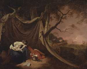 Joseph Wright Of Derby - The Dead Soldier