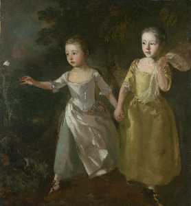 Thomas Gainsborough - The Painter's Daughters c..