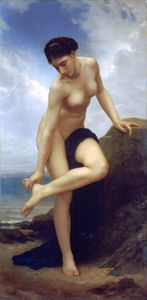 William Adolphe Bouguereau - After the bath 1875