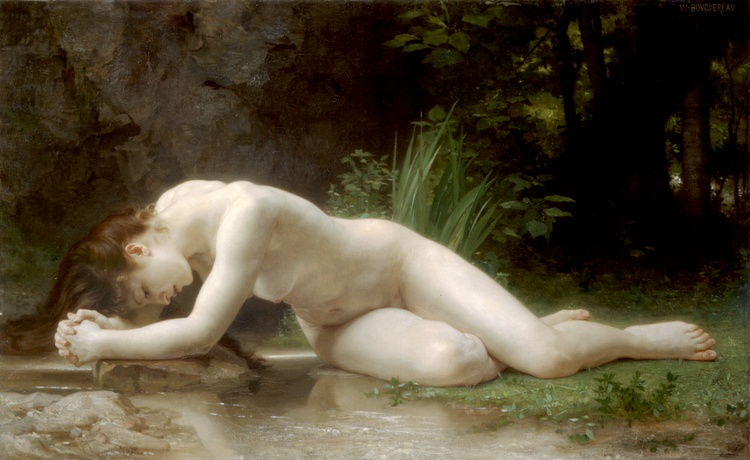 Biblis, 1884 by William Adolphe Bouguereau (1825-1905, France) | Art Reproductions William Adolphe Bouguereau | ArtsDot.com