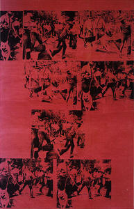 Andy Warhol - Red Race Riot