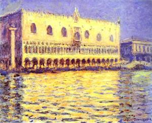 Claude Monet - Venice. The Doge Palace