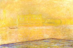 Claude Monet - View of the Doge Palace from San Giorgio