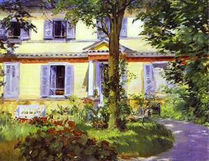 Edouard Manet - House at Rueil