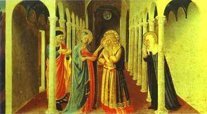 Fra Angelico - Annunciation. Presentation in the Temple