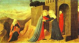 Fra Angelico - Annunciation. The Visitat..