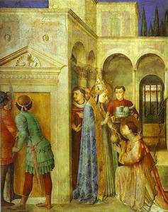 Fra Angelico - St. Lawrence Receiving th..