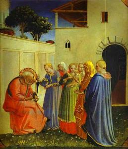 Fra Angelico - The Naming of John