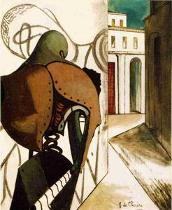 Giorgio De Chirico - The Vexations of the Thin..