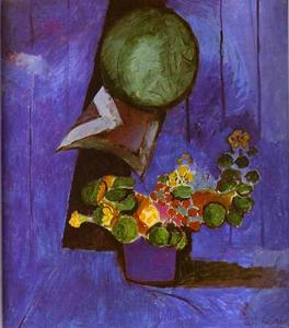Henri Matisse - Flowers and Ceramic Plate