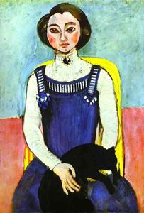 Henri Matisse - Girl with A Black Cat