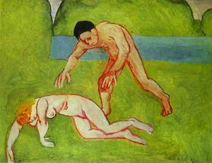 Henri Matisse - Satyr and Nymph