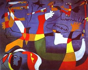 Joan Miro - Swallow,Love