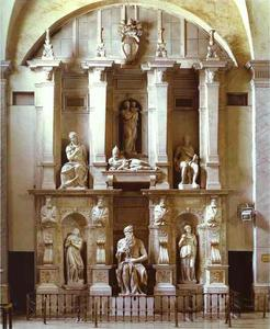 Michelangelo Buonarroti - The Tomb of the Pope Julius II