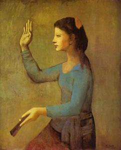 Pablo Picasso - Lady with a Fan