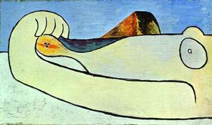 Pablo Picasso - Nude on a Beach