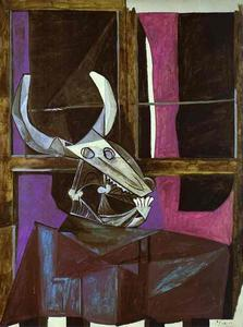 Pablo Picasso - Still Life with Steer-s Skull