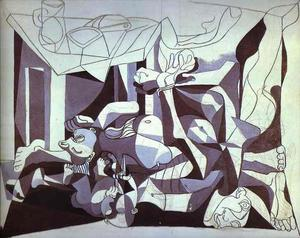 Pablo Picasso - The Charnel House