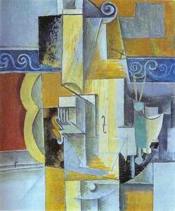 Pablo Picasso - Violin and Guitar